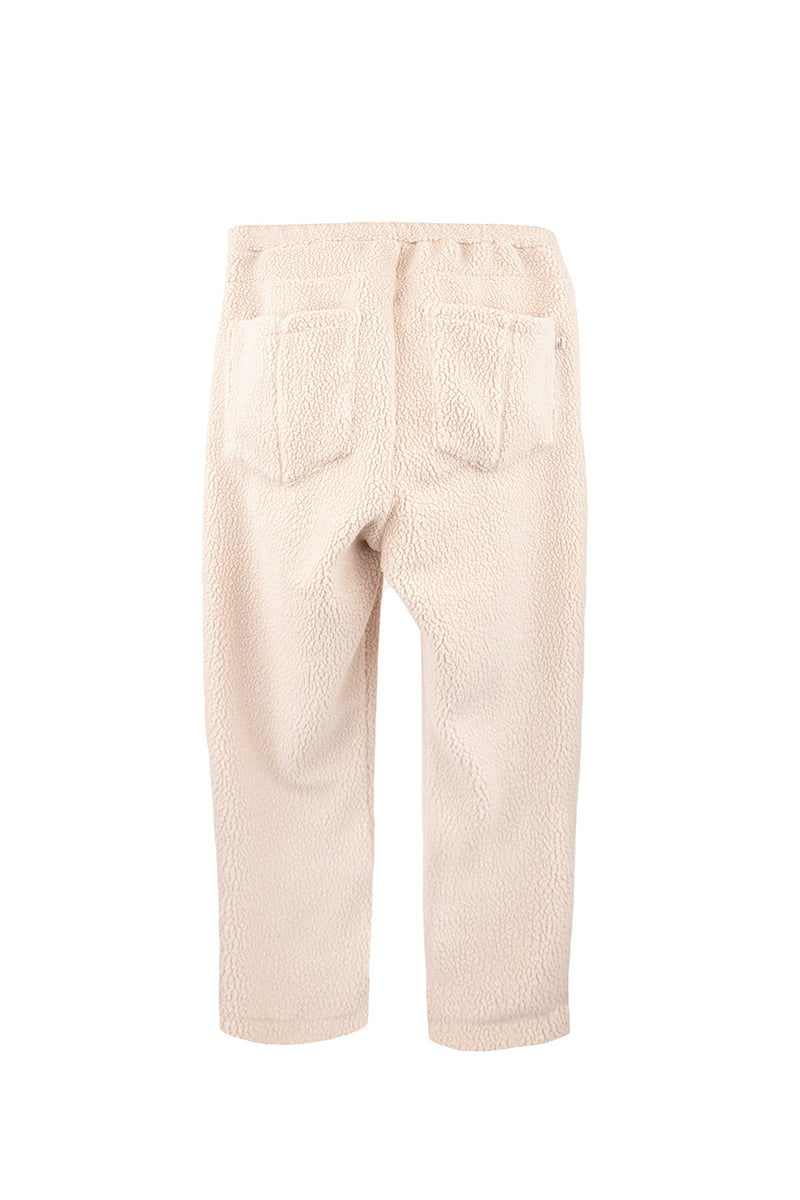 Drôle de Monsieur - Beige Polartec Relaxed Pant | 1032 SPACE