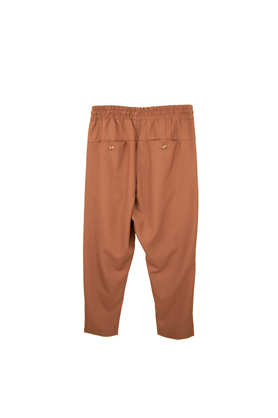 Drôle De Monsieur - Brown Wool Cropped Pants | 1032 SPACE