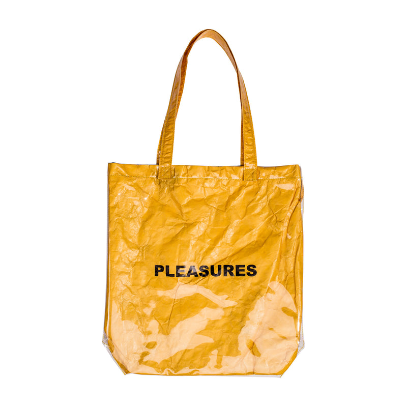 Gold Mama Plastic Tote Bag