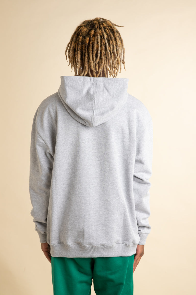 Grey NFPM Embroidered Hoodie