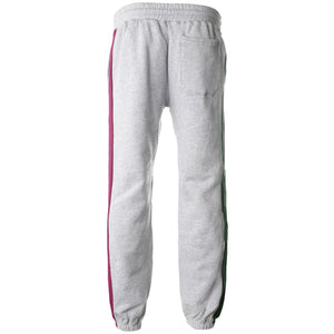Grey Split Color Sweatpants