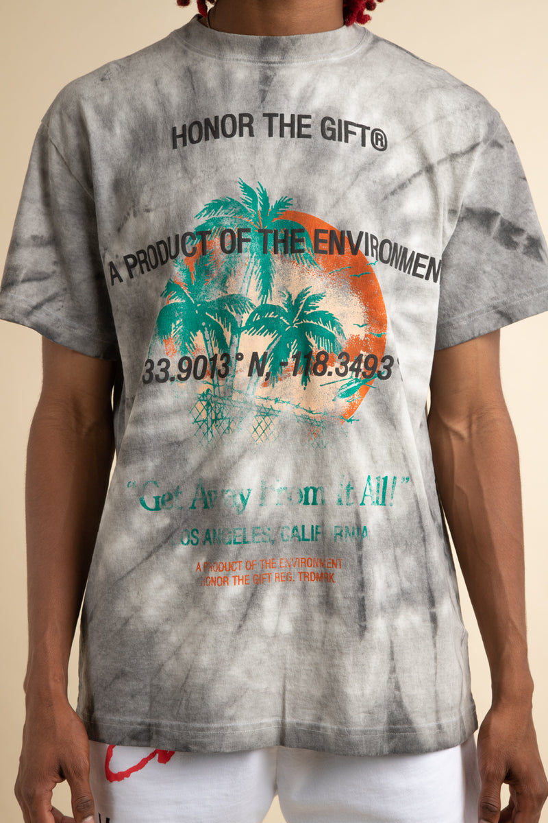 Honor the Gift - Concrete Tie Dye Heatwave T-Shirt