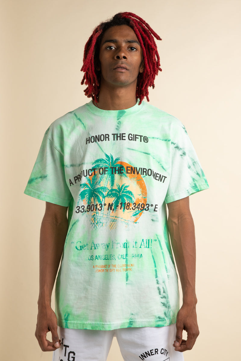 Honor the Gift - Green Tie Dye Heatwave T-Shirt