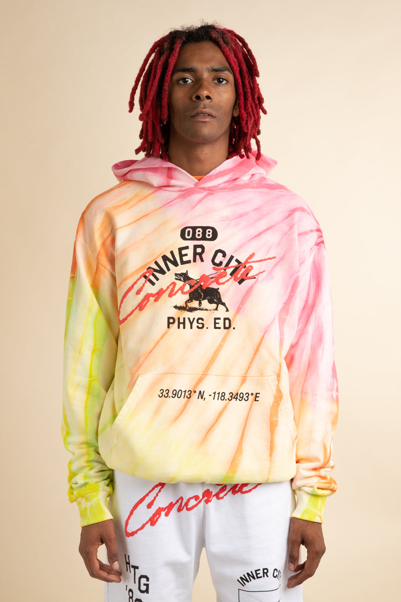Honor the Gift - Tie Dye 088 Mascot Pullover Hoodie