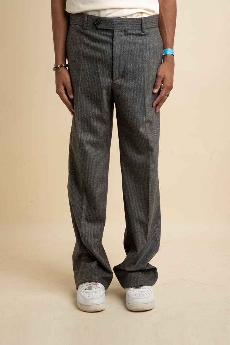 Helmut Lang - Grey Wide Leg Trouser