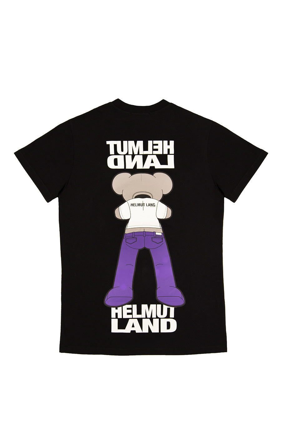 Helmut Lang - Black Helmut Land Mascot T-Shirt | 1032 SPACE