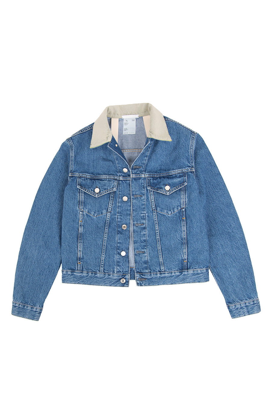 Helmut Lang - Blue Masc Big Trucker Jacket | 1032 SPACE