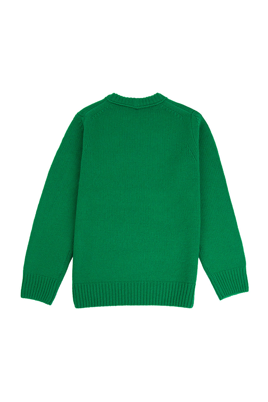 Helmut Lang - Green Helmut Land® Crewneck | 1032 SPACE