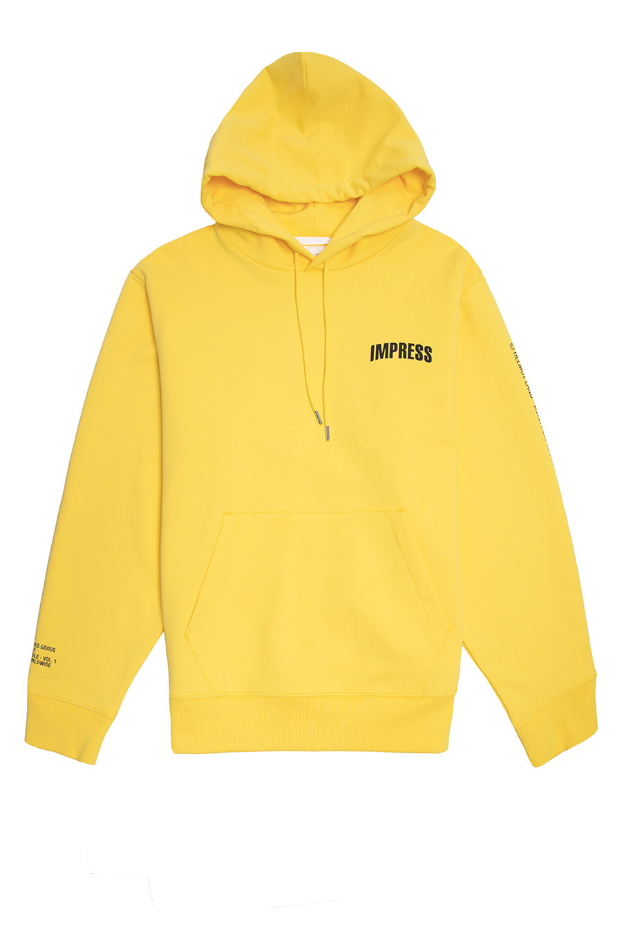 Helmut Lang - Laser Yellow Impress Hoodie | 1032 SPACE
