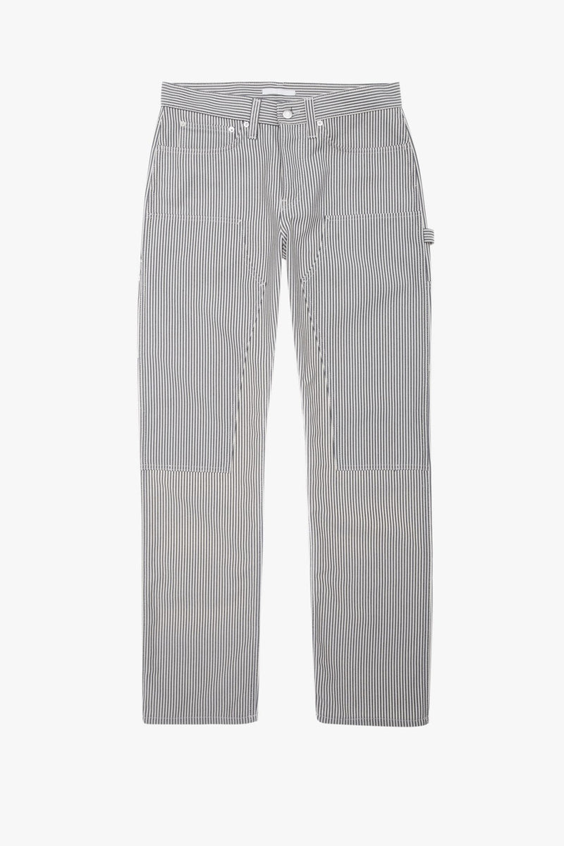 Helmut Lang - Striped Masc Lo Utility Jeans