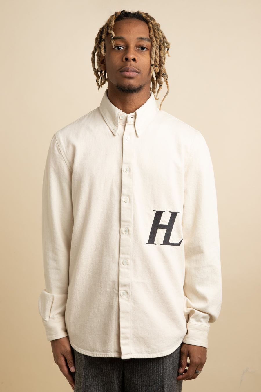 Helmut Lang - Cream Masc Button Down Shirt