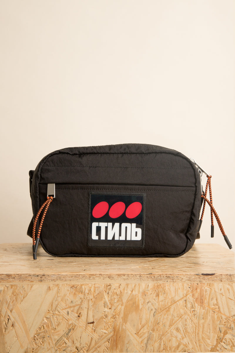 Heron Preston - Black CTNMb Dots Camera Bag