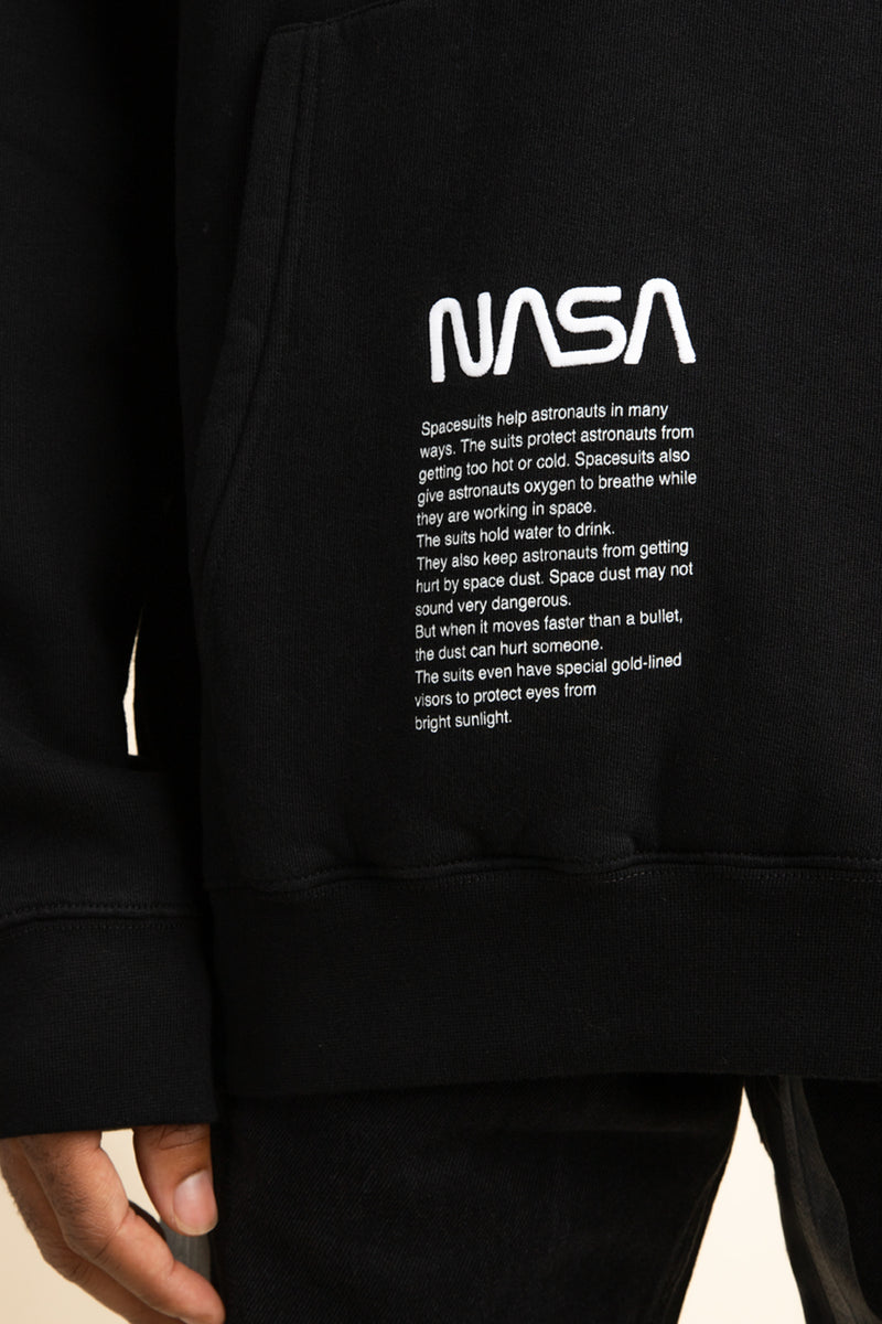 Heron Preston - Black Nasa Photo Hoodie