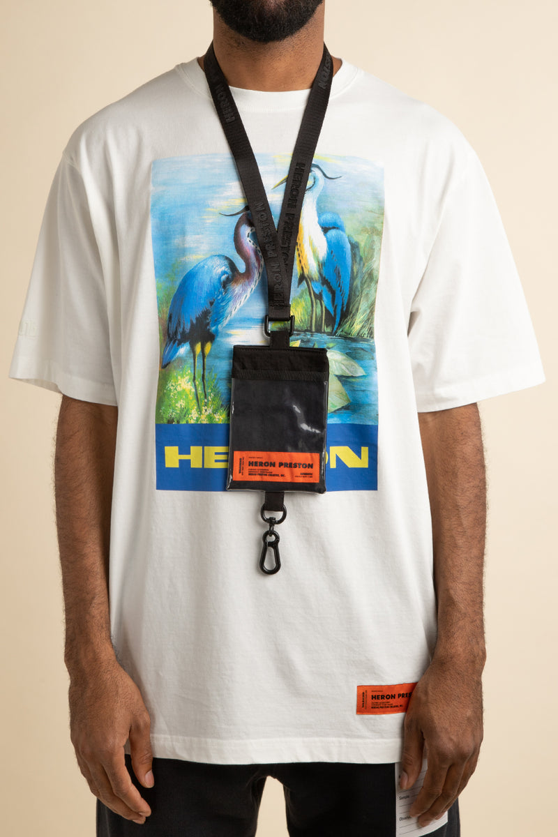 Heron Preston - Black Keychain Passport Holder