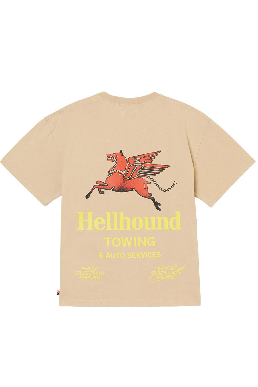 Honor the Gift - Khaki Hellhound Towing T-Shirt