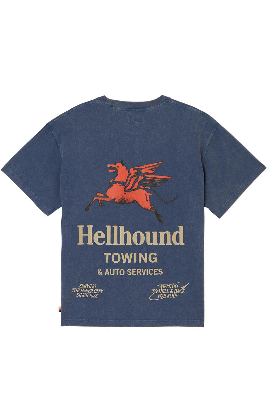 Honor the Gift - Navy Hellhound Towing T-Shirt