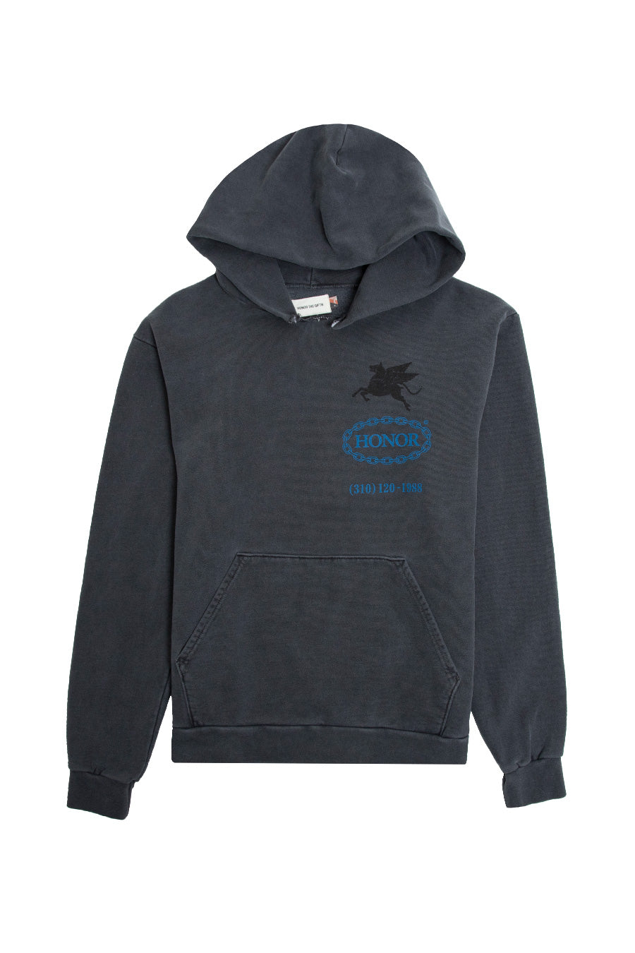 Honor the Gift - Black Hellhound Towing Hoodie | 1032 SPACE