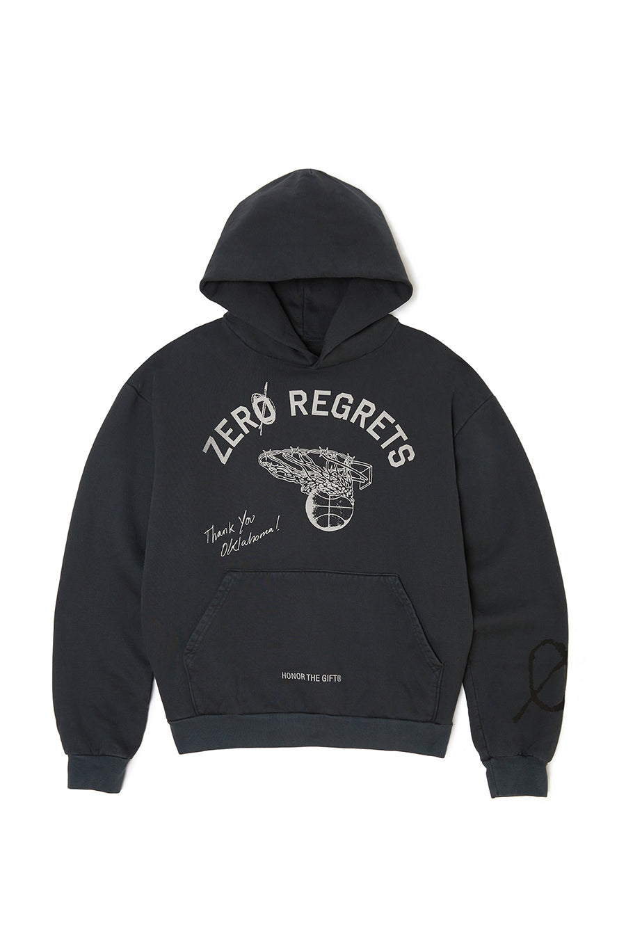 Honor the Gift - Black Zero Regrets Hoodie