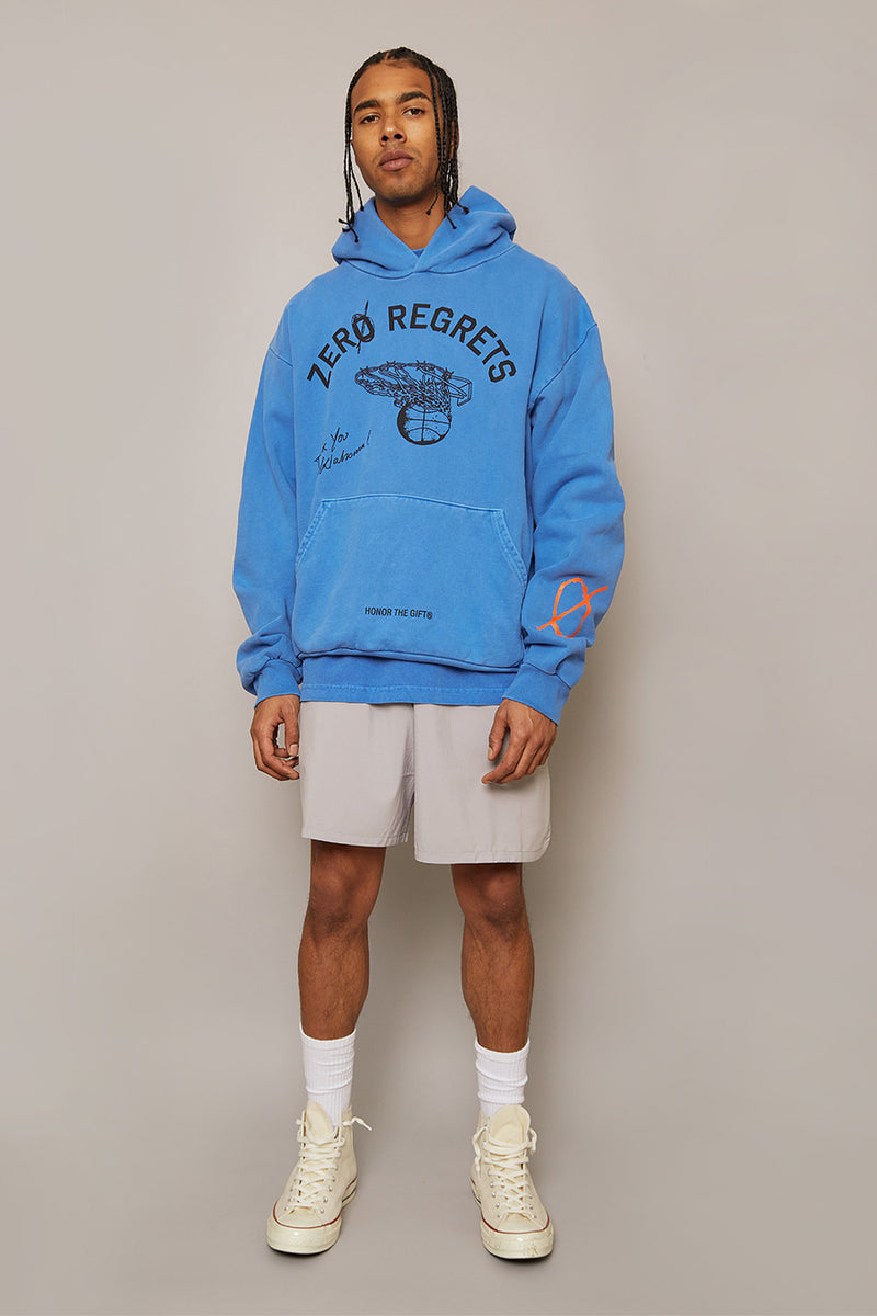 Honor the Gift - Blue Zero Regrets Hoodie