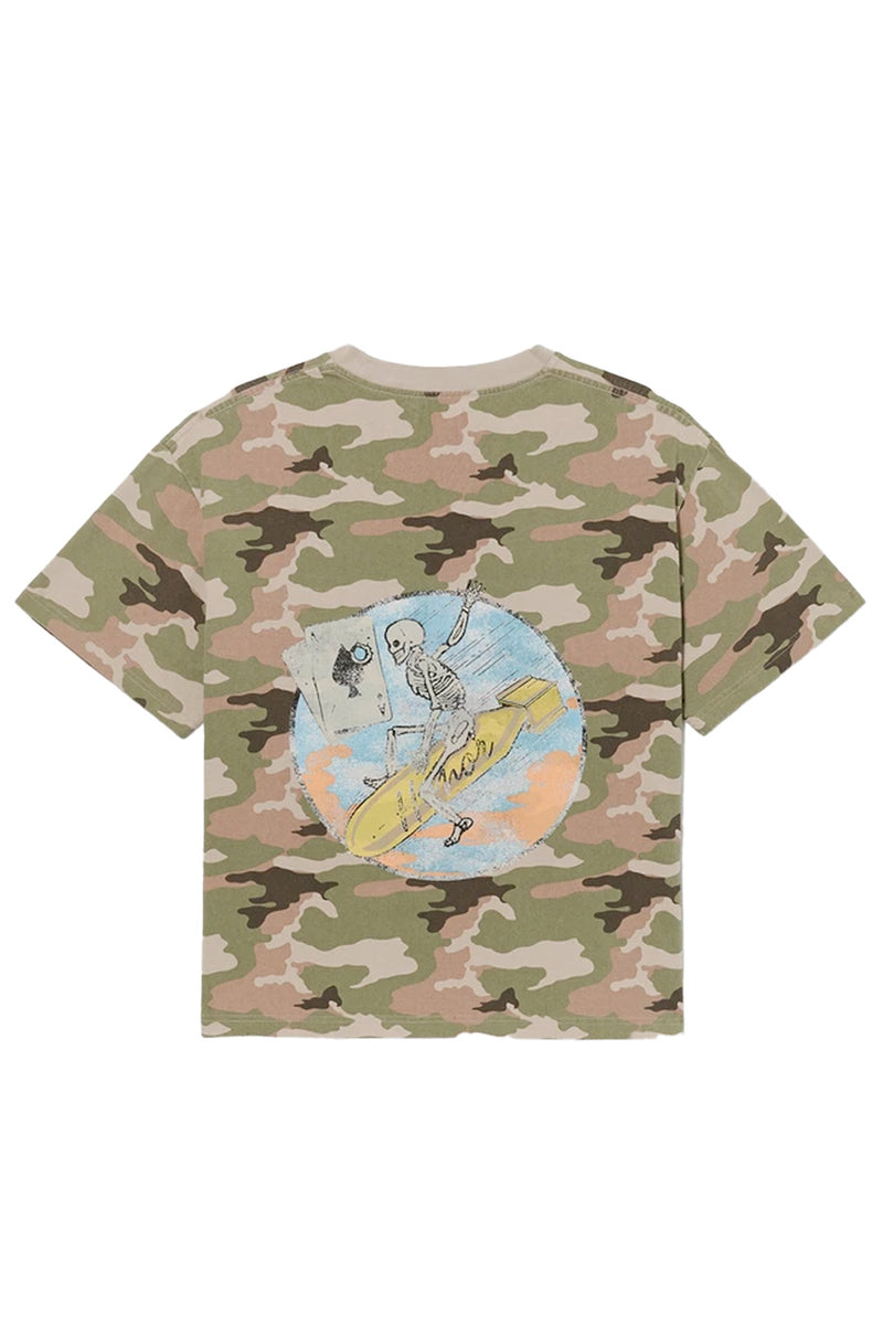 Honor the Gift - Camo Pocket Aces T-Shirt | 1032 SPACE