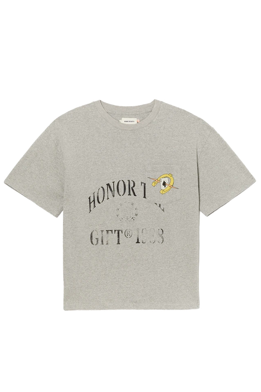 Honor the Gift - Grey Pocket Aces T-Shirt | 1032 SPACE