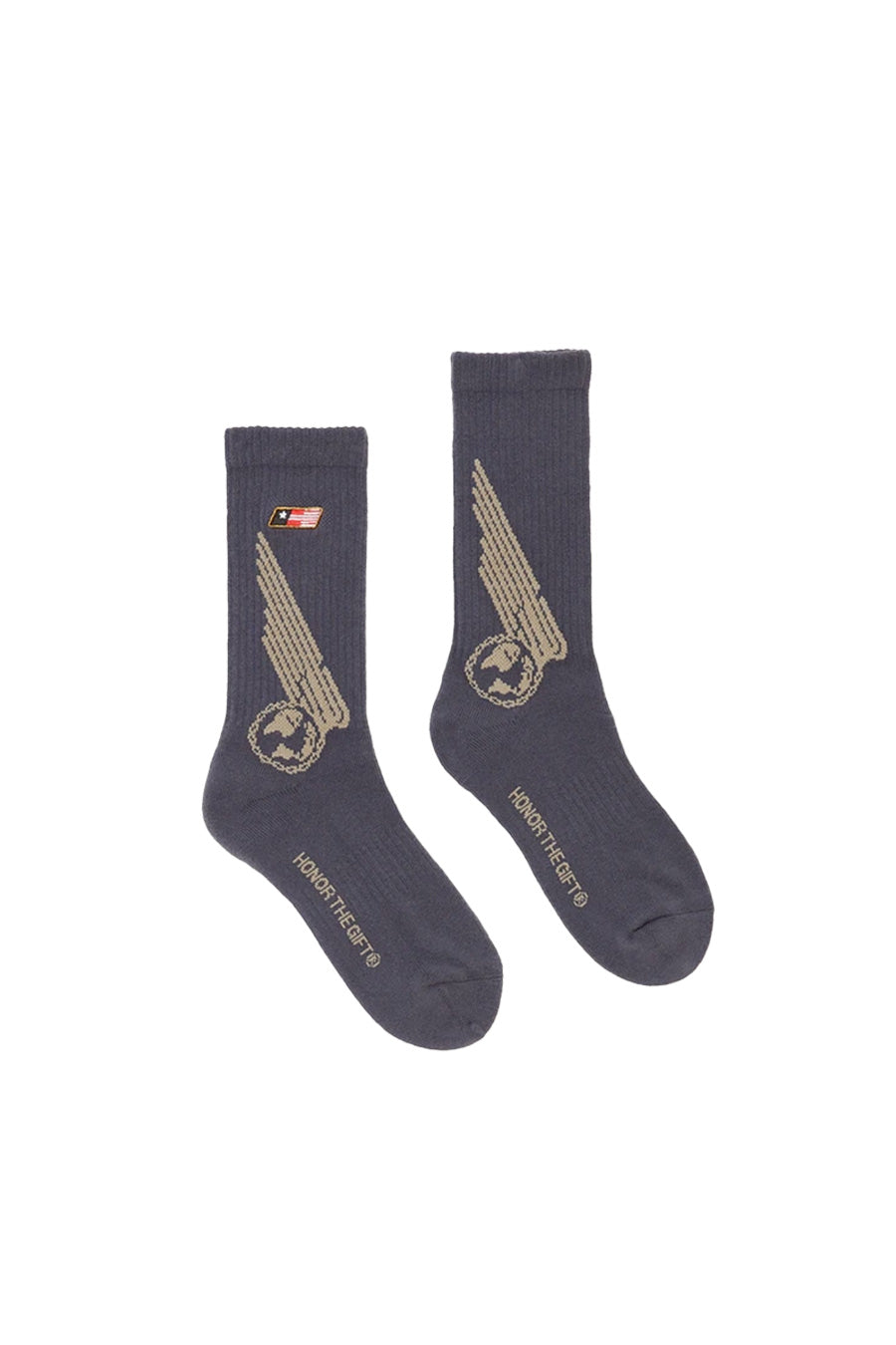Honor the Gift - Navy Airborne Socks | 1032 SPACE