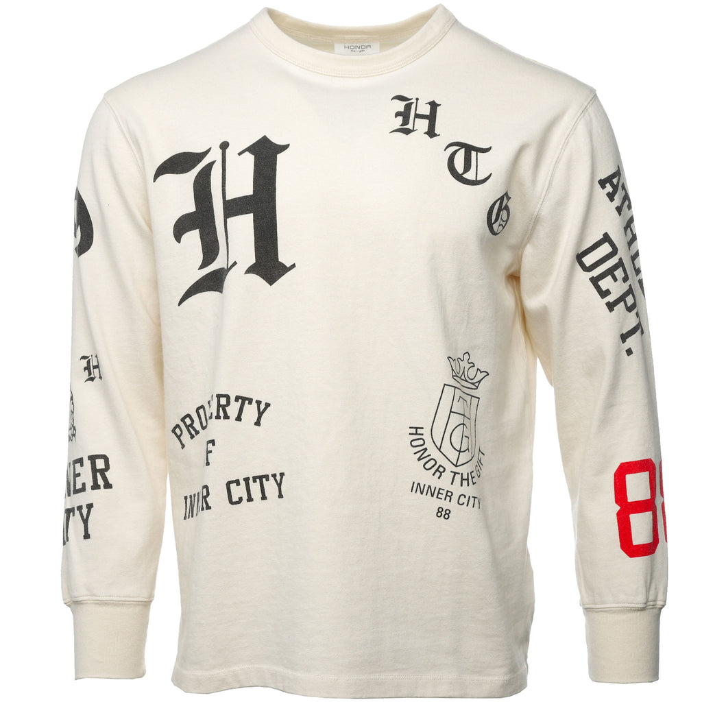 Honor the Gift - Off White K-9 Longsleeve T-Shirt