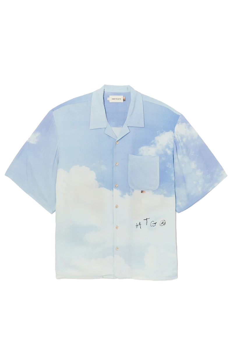 Honor the Gift - Sky Squadron Camp Button Up | 1032 SPACE