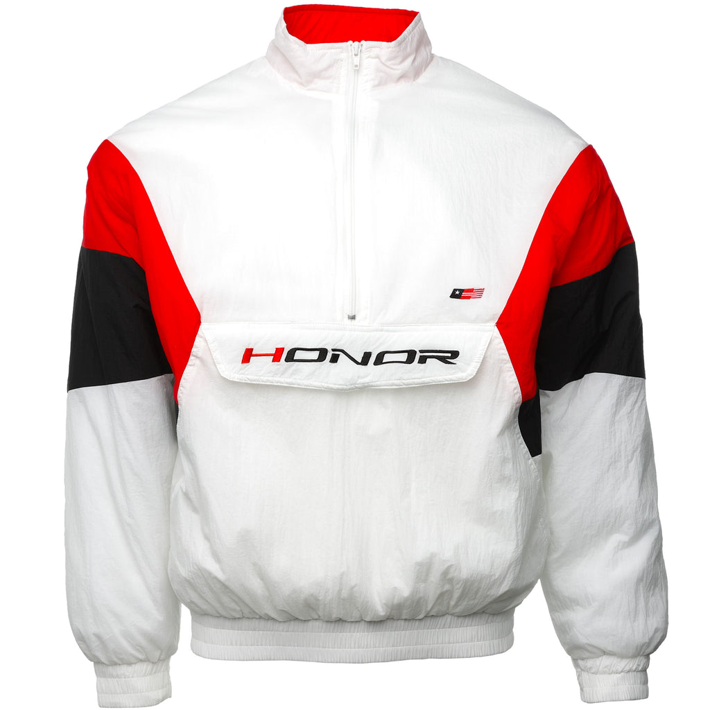 White Ultra 88 Nylon Jacket