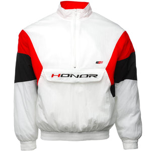 Honor the Gift - White Ultra 88 Nylon Jacket