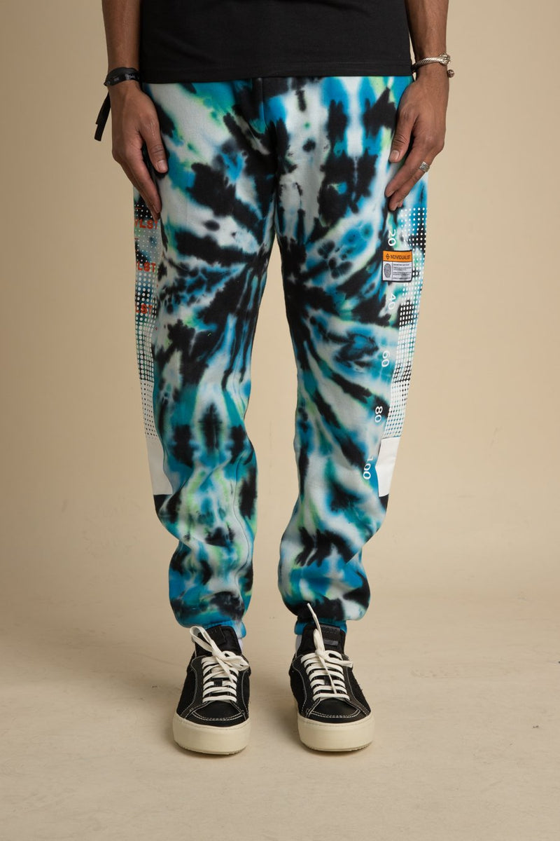 INDVLST - Tie Dye Test Bar Sweatpants