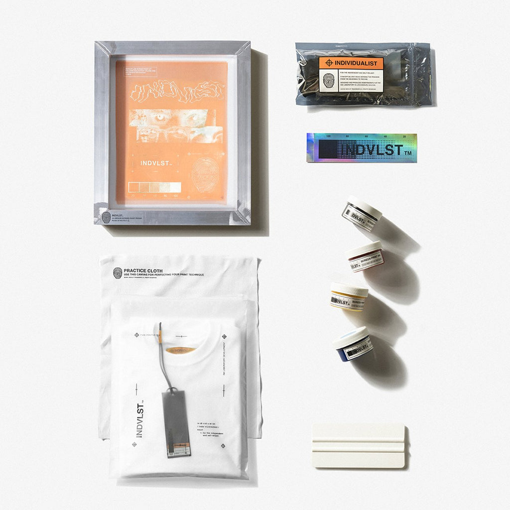 INDVLST - White Visions Screen Print Activation Kit