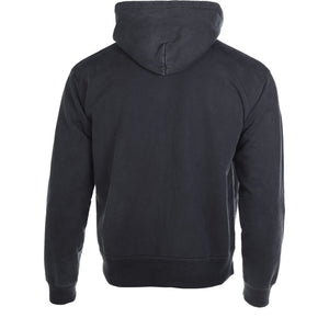 John Elliott Black Washed Replica Zip Up Hoodie Back