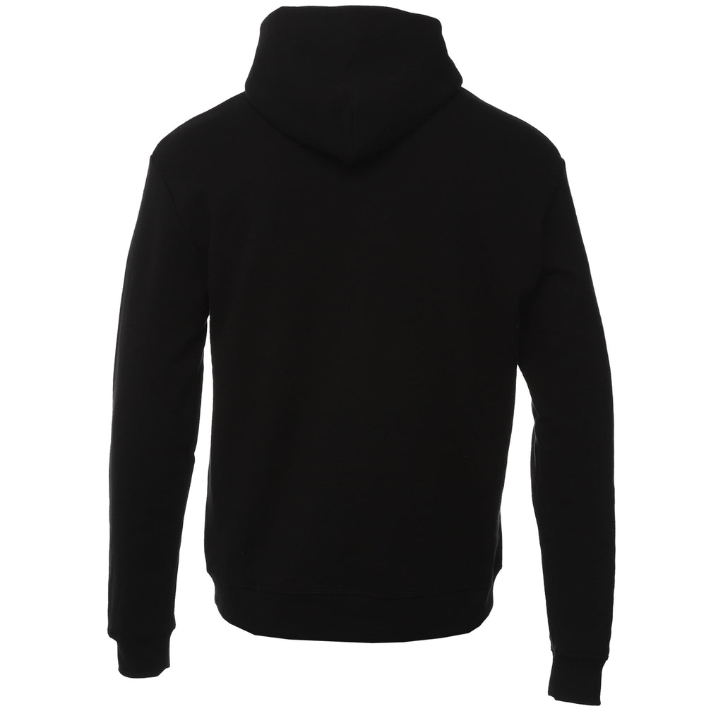 John Elliott - Black Oversized Cropped Hoodie