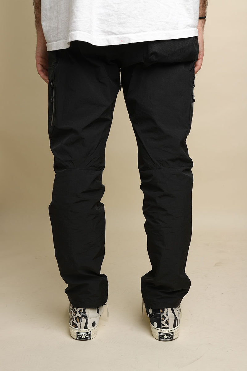 John Elliott - Black High Shrunk Himalayan Pants
