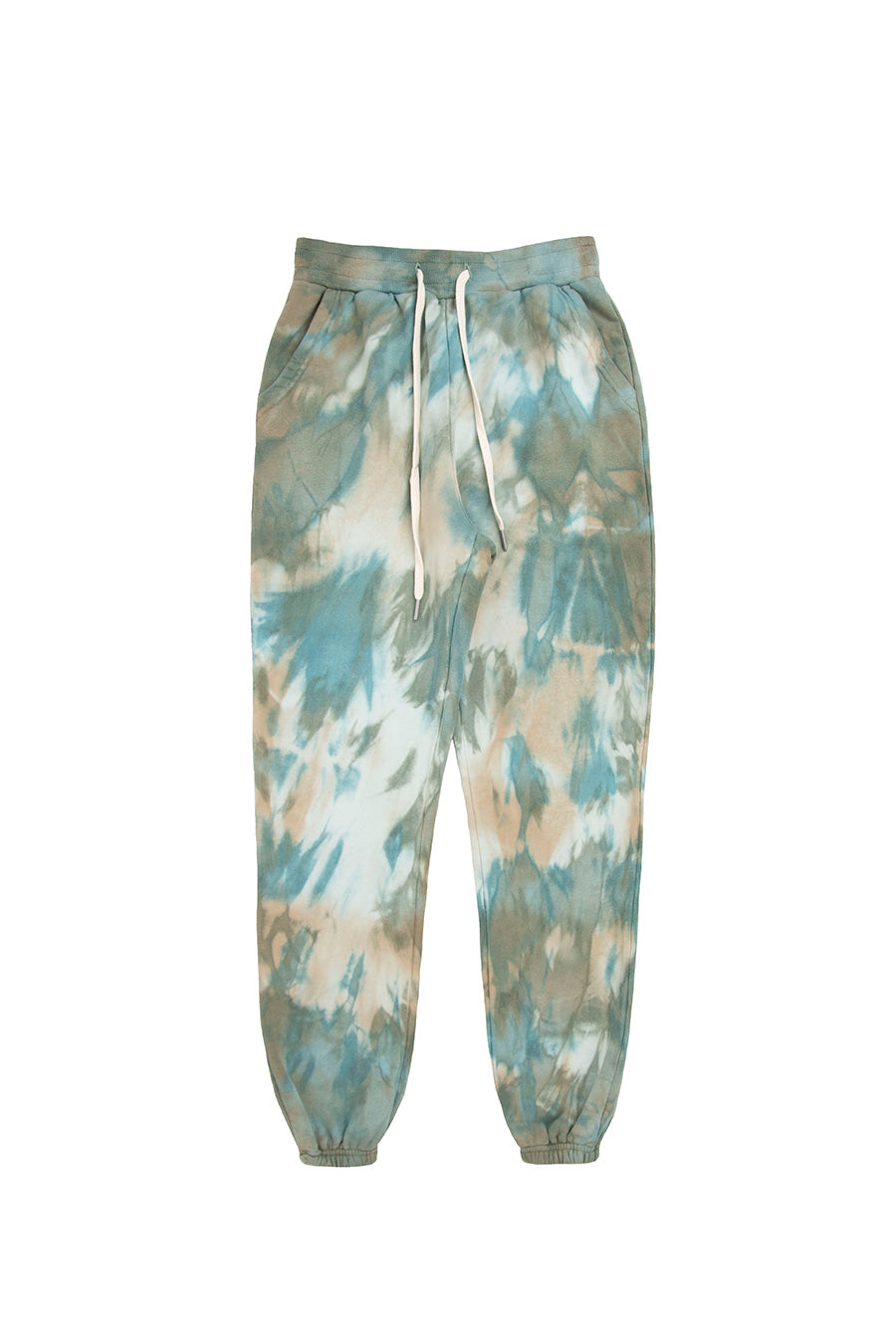 John Elliott - LA Sweatpants Sorrel Tie Dye | 1032 SPACE