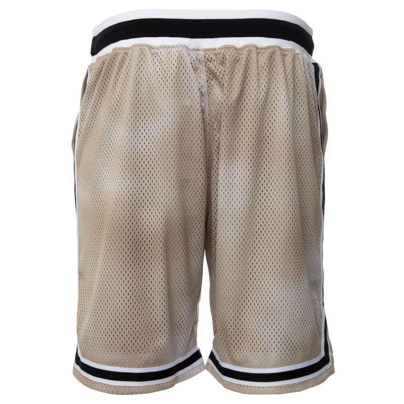 Olive Tie Dye Basketball Shorts