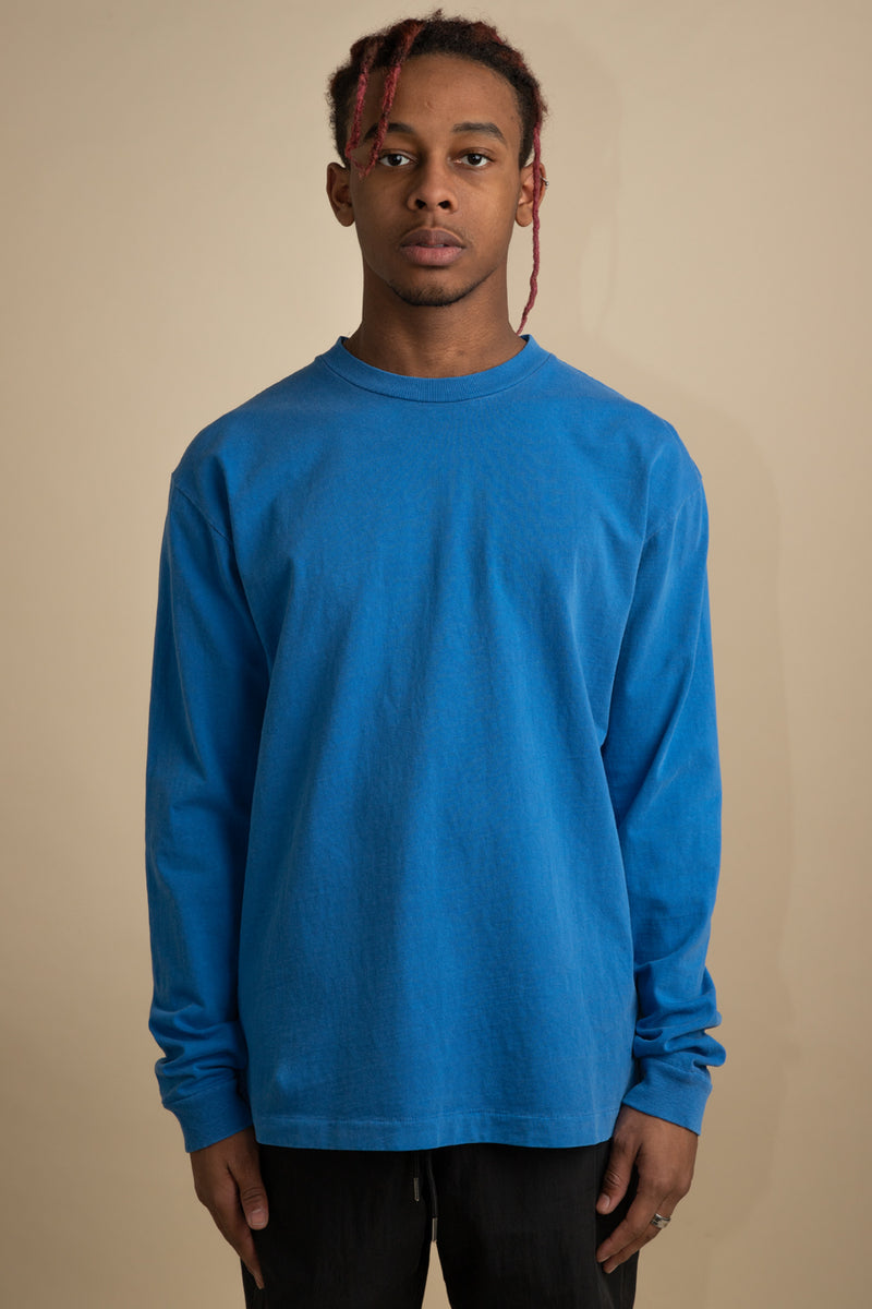 John Elliott - Blue Sonic Long Sleeve University T-Shirt