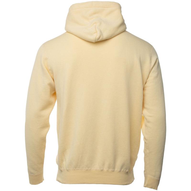 Yellow Vintage Fleece Hoodie