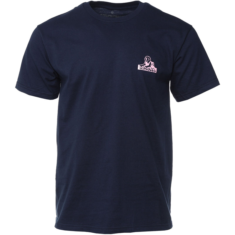Navy Sphinx Logo T-Shirt