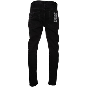 Black Distressed Exposed Venon Wolfgang Denim Jeans Ksubi Soobee Soobi Subi Subee