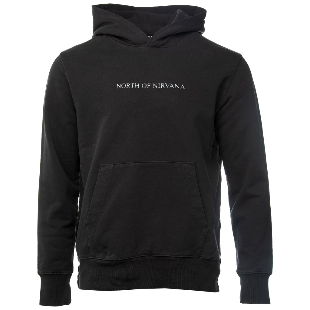 Black north of nirvana pullover cotton hoodie  Ksubi Subi Subee Soobee Jeans Australian Crosses Cross Logo Jeans Playboi Carti Travis Scott Kendall Jenner