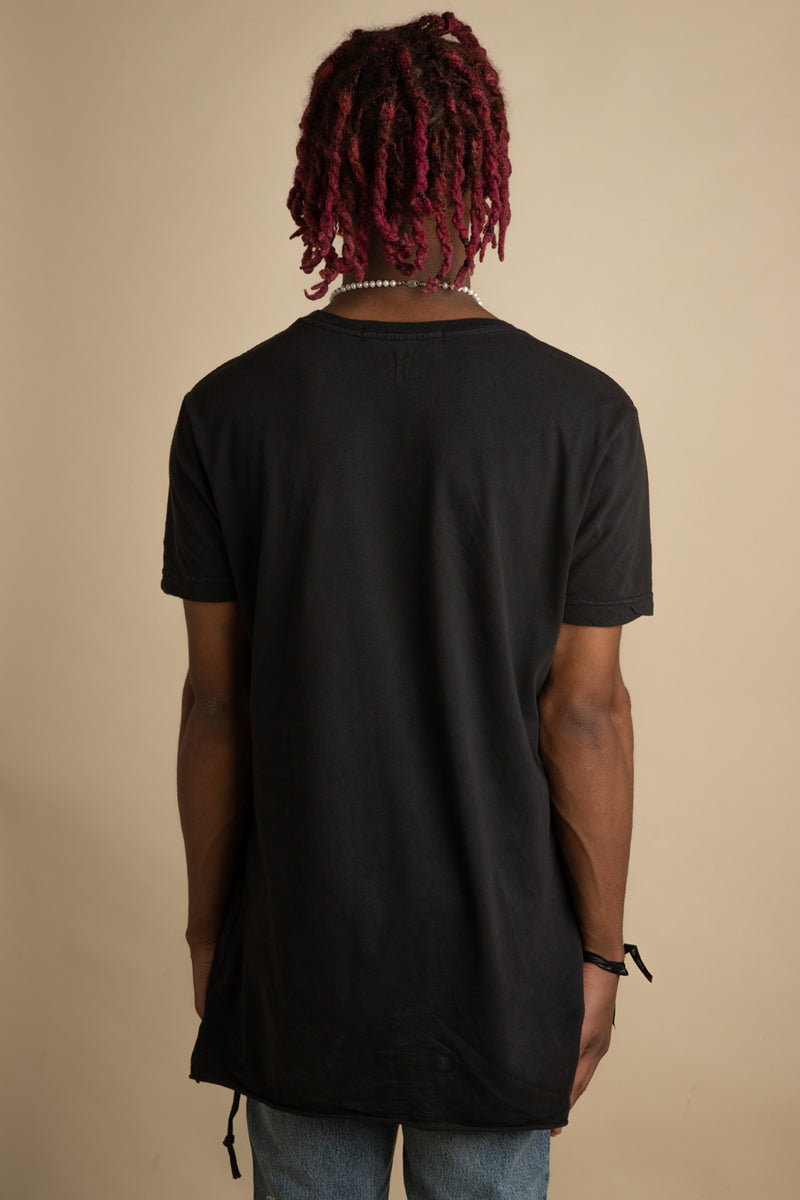 Ksubi - Black Seeing Lines T-Shirt