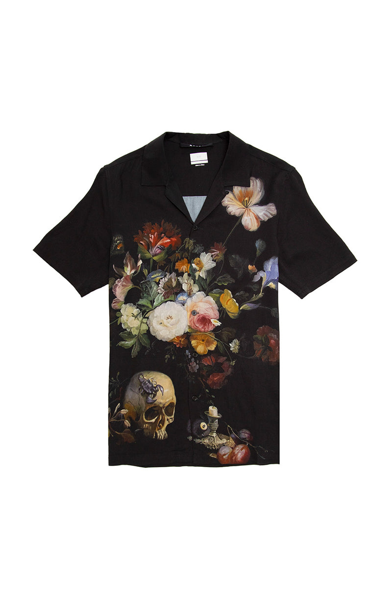 Ksubi - Black Still Life Resort Shirt | 1032 SPACE
