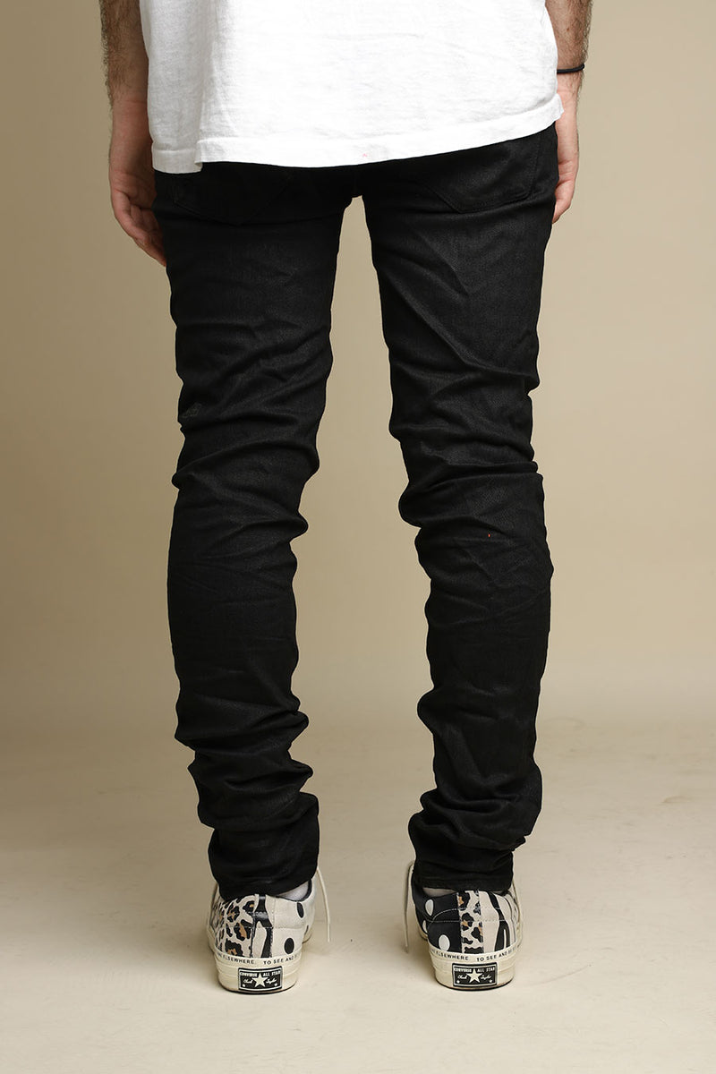 Ksubi - Black Coated Tainted Van Winkle Jeans