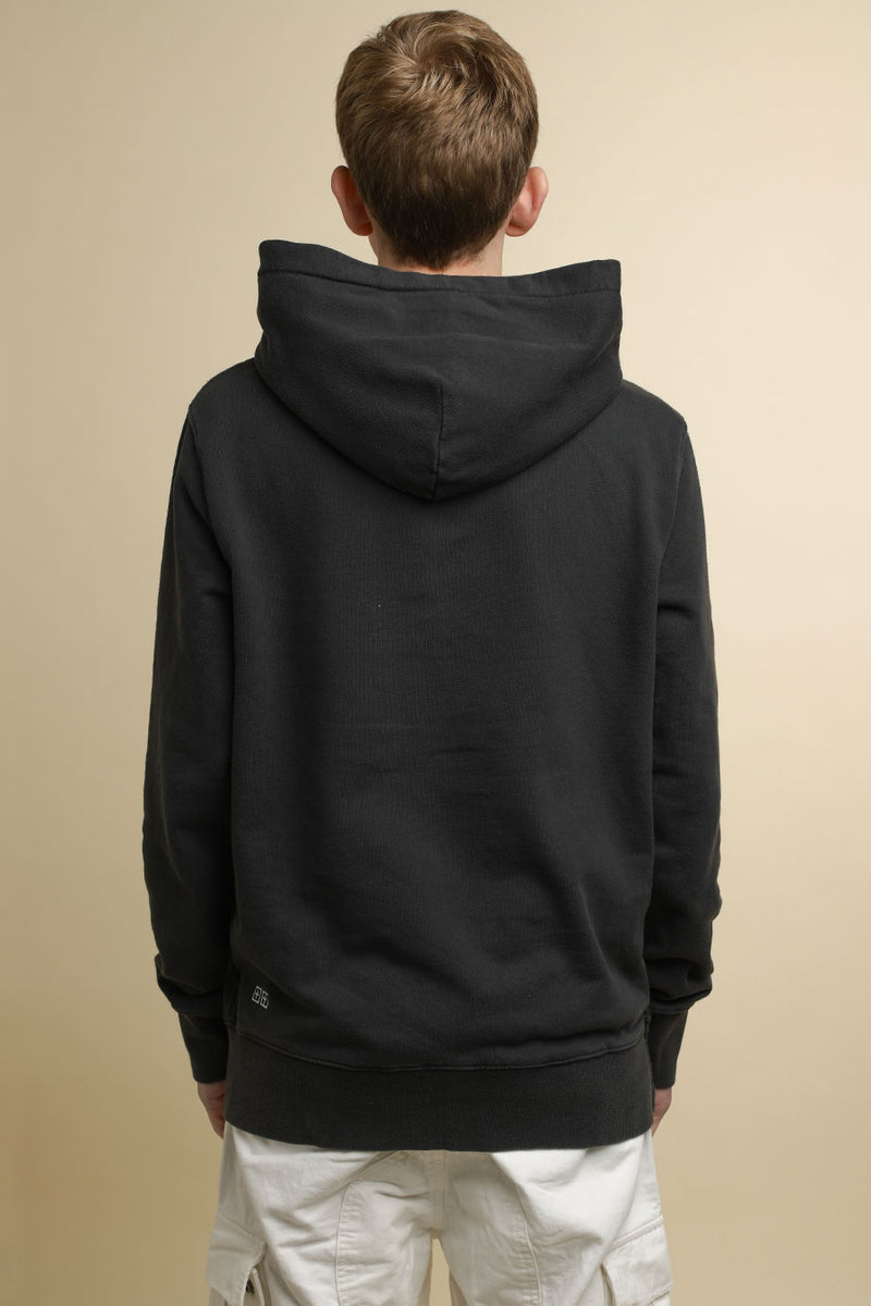 Black Washed Sign of the Times Hoodie