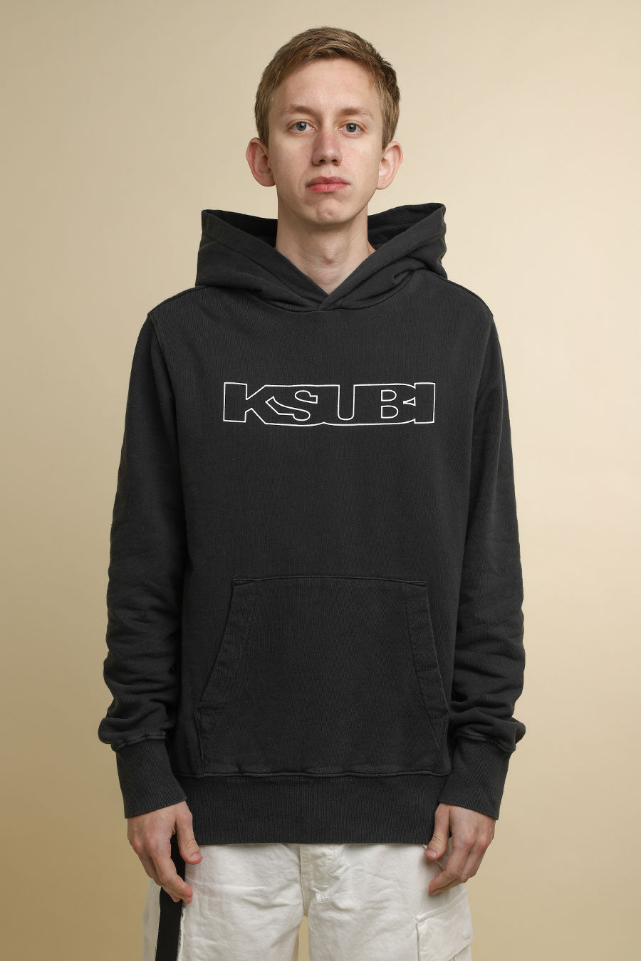 Ksubi - Black Washed Sign of the Times Hoodie