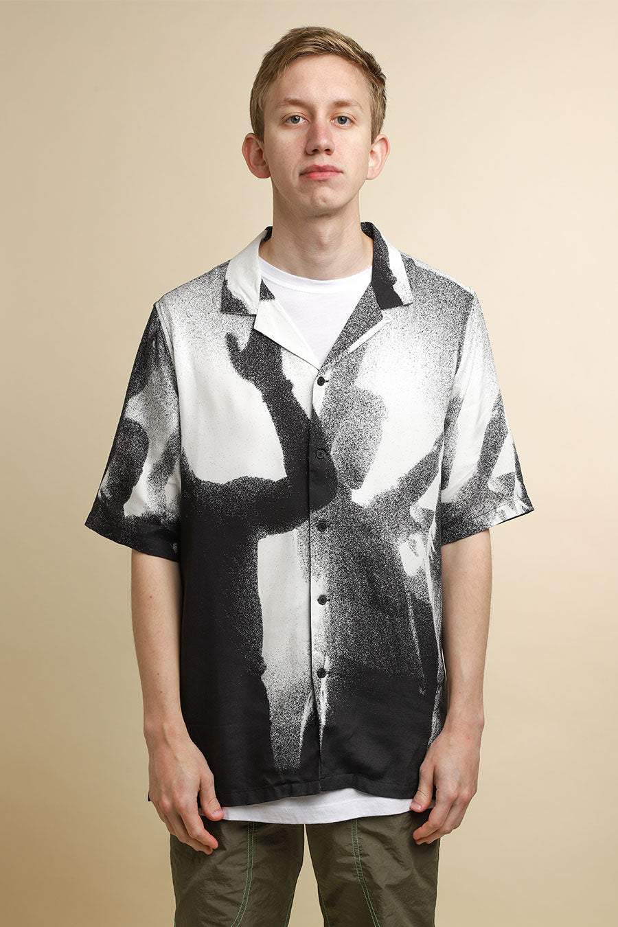 Ksubi - Black & White Dancers Resort Shirt