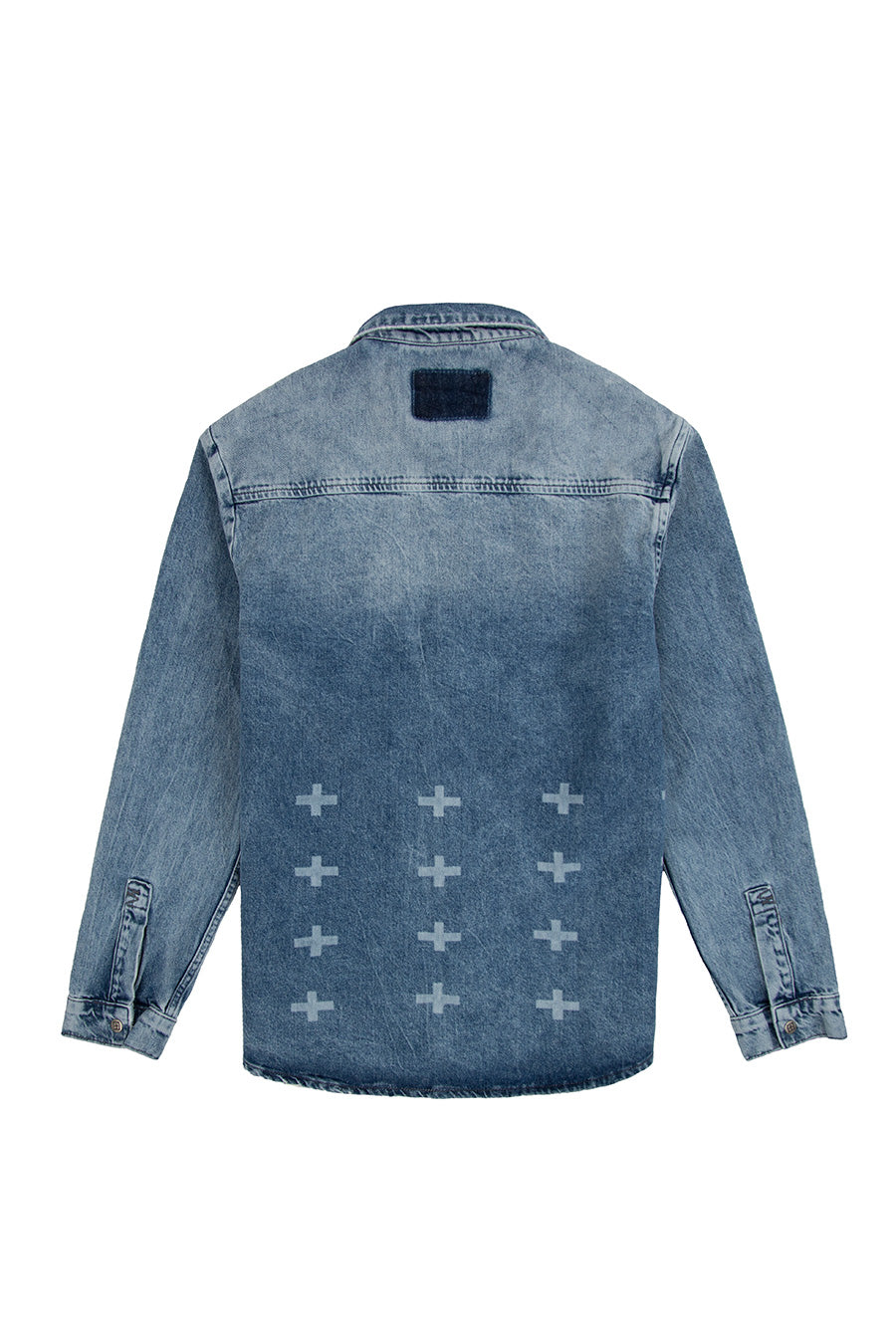 Ksubi - Blue Snakebite Vertigo Denim Shirt | 1032 SPACE