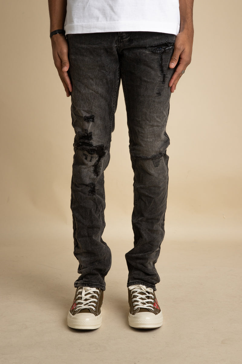 Ksubi - Black Chitch Rat Angst Trashed Jeans